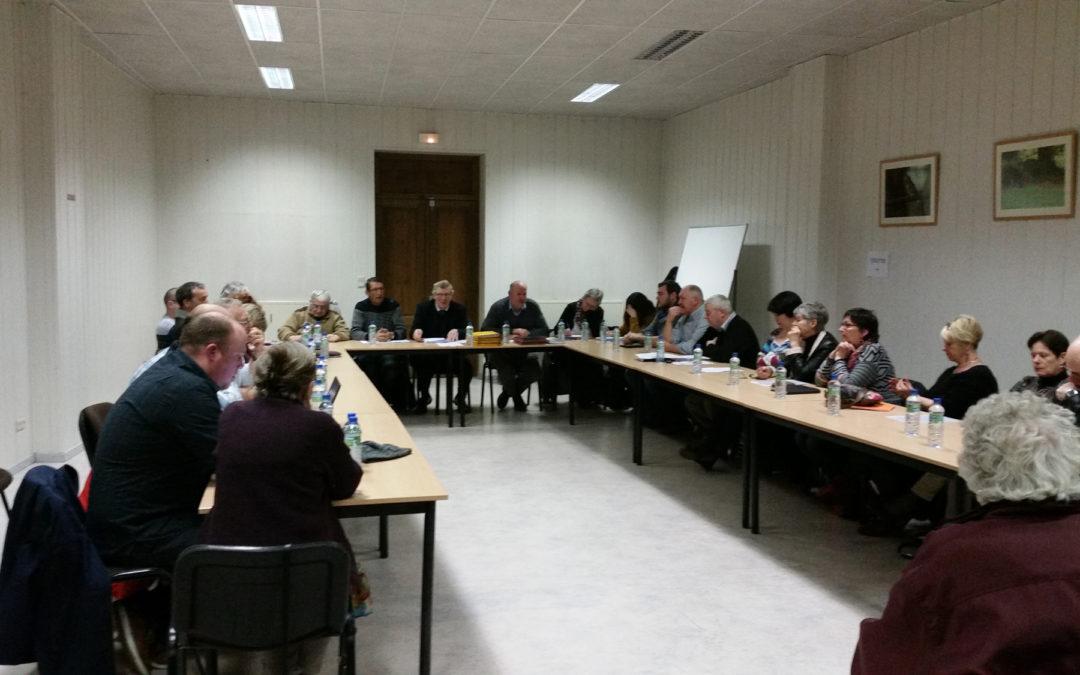 La réunion commune CPAS et Conseil Communala enfin eu lieu!